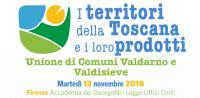 """""""I territori della Toscana ed i loro prodotti"""""""